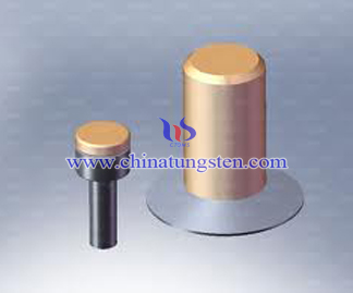 Tungsten Copper Medium Voltage Electrical Contacts Picture
